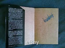 1987 The Art Of The Deal Signed By Donald Trump, Very Rare Hardcover
