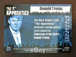 2005 Comic Images The Apprentice MASTER SET 2 Donald Trump Autograph Autos