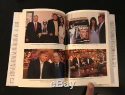 AUTOGRAPHED SIGNED TRUMP Think Like A Billionaire Donald Trump COA Free Ship $