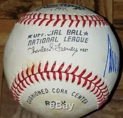 AWESOME Beautifully Autographed / Signed Pres. Donald J. Trump Official Baseball