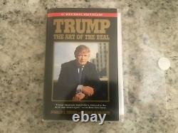 Art of the Deal Autographed Paperback Hand Signed by President DONALD TRUMP