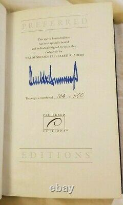 Autographed Book President Donald Trump Surviving at the Top #164 of 500 Rare