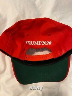 Autographed MAGA Hat (Donald J Trump Autograph)