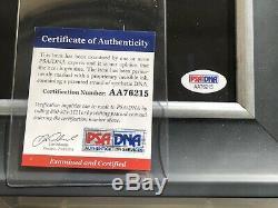 Beautiful Donald Trump Signed 12x18 Photo Framed PSA/DNA Autograph