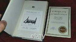 CRIPPLED AMERICA Signed by President DONALD TRUMP with COA SEALED Autographed 2020