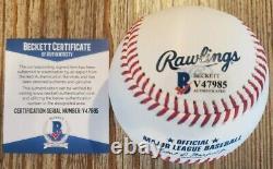 Candace Owens Signed OMLB Baseball with BAS COA #V47985 Donald J Trump