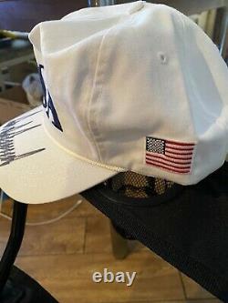 DONALD TRUMP AUTOGRAPHED HAT CAP (JSA Certified)