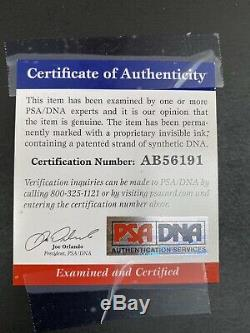 DONALD TRUMP PSA DNA Autograph Signed Photo Oval Office White House MAGA
