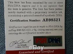 DONALD TRUMP SIGNED 11x14 PHOTO DUAL CERTIFIED JSA & PSA VERY FINE COND. NR
