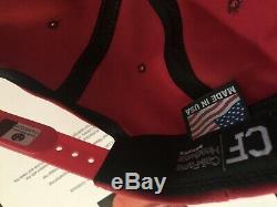 DONALD TRUMP SIGNED 2016 Red USA Made Cali-Fame MAGA HAT Global GA COA LOA $$$
