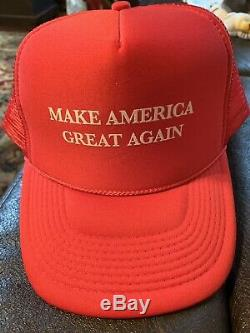 DONALD TRUMP Signed. TRUMP THE AMERICA WE DESERVE. 1st Ed With MAGA Hat