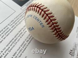 DONALD TRUMP signed autographed PRESIDENT BASEBALL JSA certified