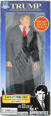 Donald J. Trump Authentic Signed The Apprentice 12 Talking Doll BAS #A88687