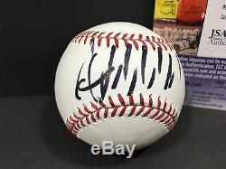Donald J Trump Signed Autograph Baseball 2016 President Mlb Republican USA Jsa