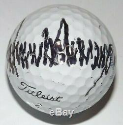 Donald J. Trump Signed/Autographed Golf Ball withDisplay Cube