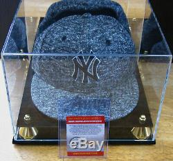 Donald J. Trump Signed New York Yankees Cap, Size 7 Hat, Pinpoint Services Cert