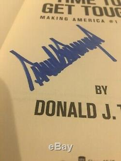 Donald Trump Autographed Book Its Time To Get Tough ONE DAY SALE