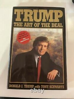 Donald Trump Autographed Book The Art of the Deal