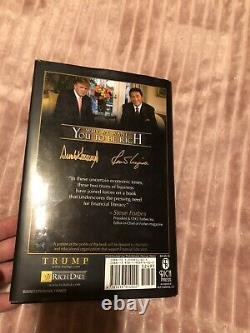 Donald Trump Autographed Book With Coa PSA/DNA
