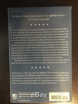 Donald Trump Autographed Copy Book Great Again