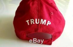 Donald Trump Autographed Make America Great Again MAGA Hat JSA Authenticated LOA