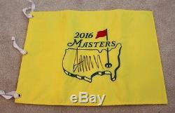 Donald Trump For President Signed 2016 Masters Golf Flag Jsa Make America Great