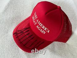 Donald Trump Hand Signed MAGA Hat