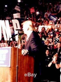 Donald Trump Hand Signed ROLLING STONE Magazine Cover Authentic, Comes COA