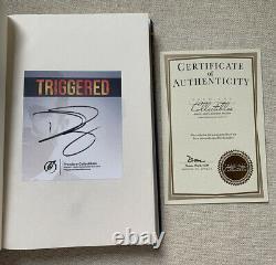 Donald Trump Jr. Autographed Triggered Hardcover Book & Coa