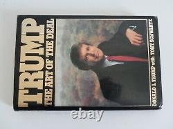 (Donald Trump) Signed ART OF THE DEAL Book Inscribed