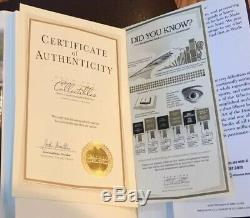 Donald Trump Signed Autograph Crippled America With Coa Numbered Bookplate