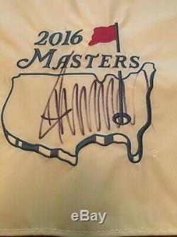 Donald Trump Signed Autographed 2016 Masters Flag PSA LOA