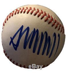 Donald Trump Signed Baseball Rawlings