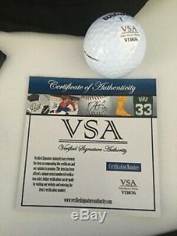 Donald Trump Signed Golf Ball COA