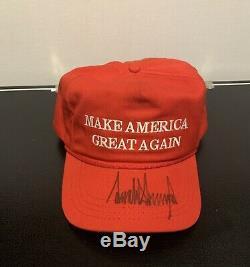 Donald Trump Signed Maga Hat 2016