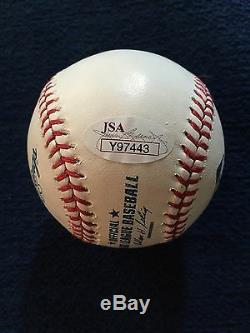 Donald Trump Signed Romlb Authentic Baseball 2016 U S President Elect JSA Ink