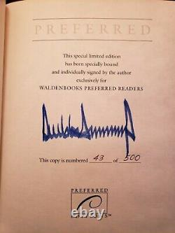 Donald Trump Surviving At The Top Signed Special Limited Edition #43 of 500
