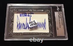 Donald Trump U. S. President / 2018 Leaf Executive Cut Signature Signed Autograph