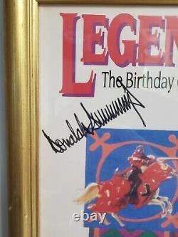 Donald Trump Very Rare Autographed 1993 Trump Castle Birthday Party Invitation