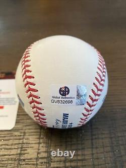 Donald Trump autographed baseball COA Global Authentics