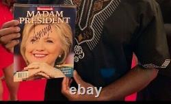 Donald trump autograph COA on MAGA HAT (EXTREMELY RARE)