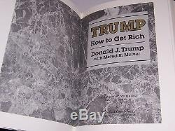 Easton Press Signed HOW TO GET RICH by Donald J. Trump