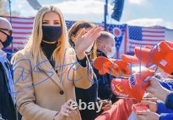 Ivanka Trump Signed Autographed 8x10 Photo Maga Donald Potus Daughter Jsa Coa