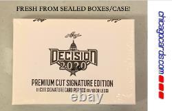 Leaf Decision 2020 Premium Cut Signature Ed Hobby Box (Donald Trump Joe Biden)