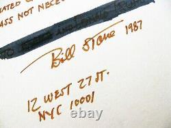 Madonna The Beautiful Given To Donald Trump Signed Bill Stone Cibachrome Print