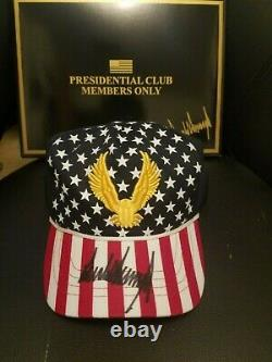 Official Donald Trump Autographed Freedom Hat 2020