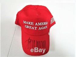 PRESIDENT DONALD J. TRUMP SIGNED MAGA HAT / CAP With COA MAKE AMERICA GREAT AGAIN