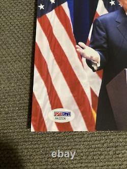 PSA DNA Donald Trump 8x10 Signed Autograph President Photo