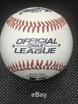 President DONALD TRUMP Hand Signed Autographed Baseball POTUS COA LIA