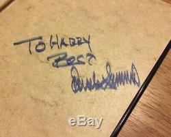 President Donald J Trump Rare Autograph Autographed Book Art Of Deal Signed Book